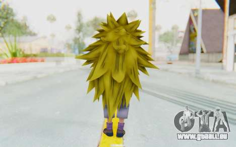 Dragon Ball Xenoverse Pan SSJ3 pour GTA San Andreas troisième écran
