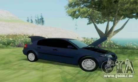 Renault Megane 2004 pour GTA San Andreas vue de droite