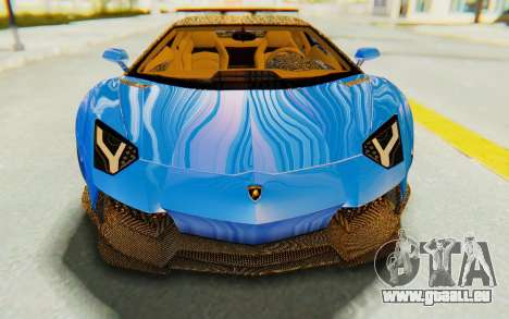 Lamborghini Aventador LP700-4 LB Walk Fenders für GTA San Andreas Seitenansicht