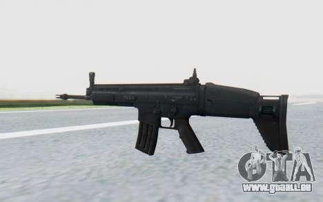 SCAR-L für GTA San Andreas dritten Screenshot