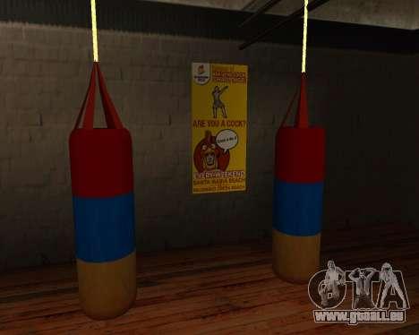 Poire style de Boxe de l'arménien drapeau pour GTA San Andreas