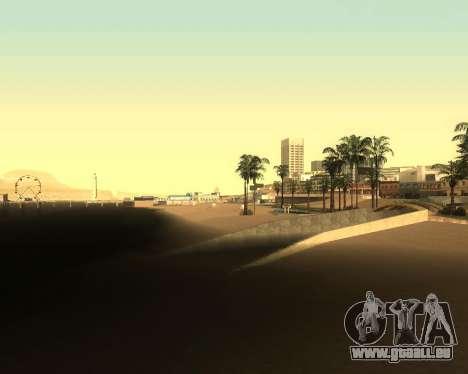 Réaliste ENB pour les moyennes PC V. 1 pour GTA San Andreas quatrième écran