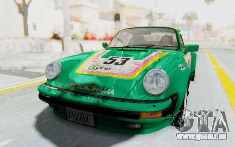 Porsche 911 Turbo 3.2 Coupe (930) 1985 für GTA San Andreas Innenansicht