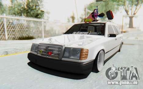 Mercedes-Benz W124 Stance Works für GTA San Andreas rechten Ansicht
