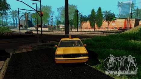 GeForce ENB pour la faiblesse du PC pour GTA San Andreas deuxième écran