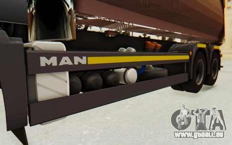 MAN TGA Energrom Edition v2 pour GTA San Andreas vue intérieure