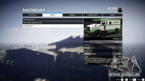 GTA 5 Heist Project 0.4.32.678 achten Screenshot