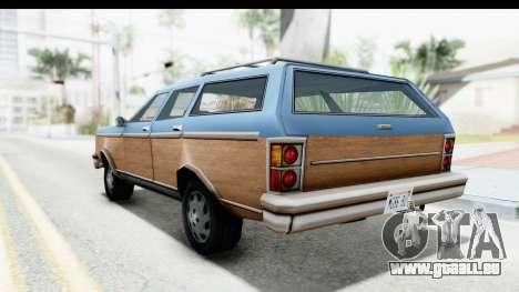 Pontiac Bonneville Safari from Bully pour GTA San Andreas sur la vue arrière gauche