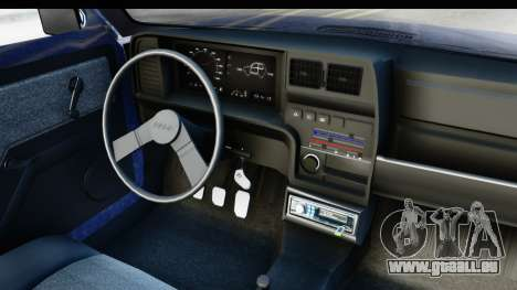 Fiat 147 Spazio TR Stock für GTA San Andreas Innenansicht
