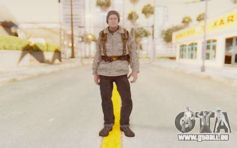 COD BO Russian Soldier v1 pour GTA San Andreas deuxième écran