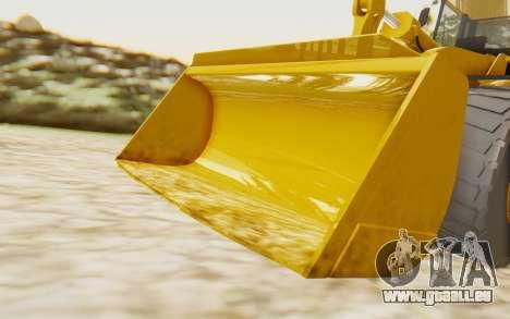 Caterpillar 966 GII pour GTA San Andreas vue arrière