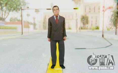 Mafia 2 - Gravina Boss Black pour GTA San Andreas deuxième écran