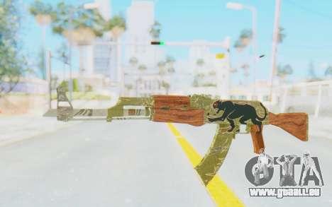 CS:GO - AK-47 Jaguar für GTA San Andreas
