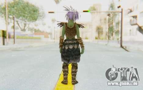 Skyrim - Khorah Orc v1 pour GTA San Andreas troisième écran