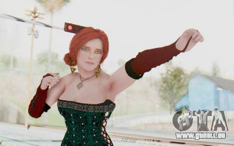 The Witcher 3 - Triss Merigold Dress pour GTA San Andreas