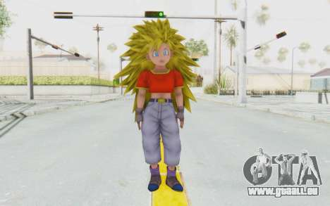 Dragon Ball Xenoverse Pan SSJ3 für GTA San Andreas zweiten Screenshot