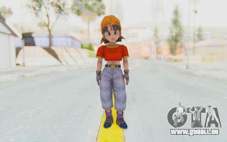 Dragon Ball Xenoverse Pan SJ pour GTA San Andreas deuxième écran