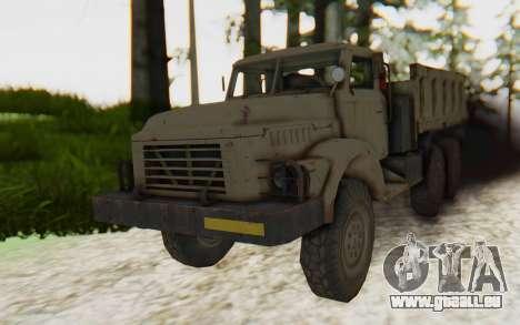 MGSV Phantom Pain Zi-GRA 6T Truck für GTA San Andreas