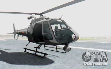 GTA 5 News Chopper Style Weazel News für GTA San Andreas rechten Ansicht