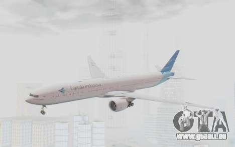 Boeing 777-300ER Garuda Indonesia für GTA San Andreas