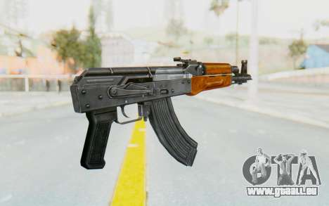 AK-47U v1 pour GTA San Andreas troisième écran