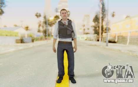 CoD MW2 Secret Service pour GTA San Andreas deuxième écran