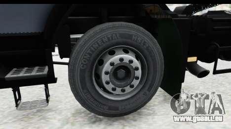 Volvo FMX Euro 5 v2.0.1 für GTA San Andreas Rückansicht