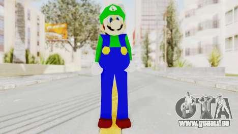 Luigi für GTA San Andreas zweiten Screenshot