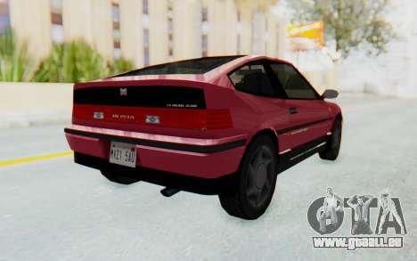 Dinka Blista Compact 1990 pour GTA San Andreas vue de droite