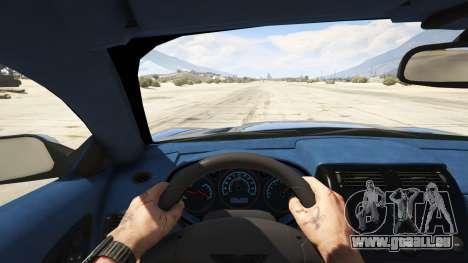 GTA 5 2001 Aston Martin V12 Vanquish arrière droit vue de côté
