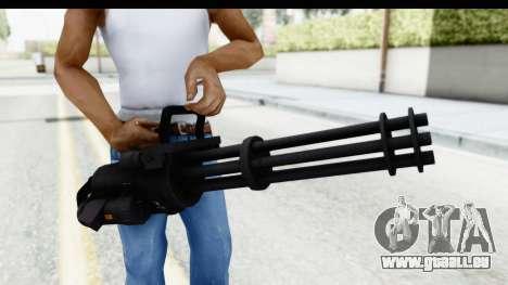 GTA 5 Coil Minigun v2 pour GTA San Andreas