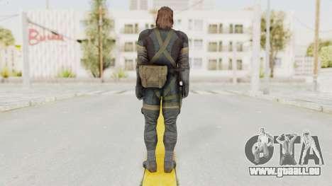 MGSV Phantom Pain Big Boss SV Sneaking Suit v2 für GTA San Andreas dritten Screenshot