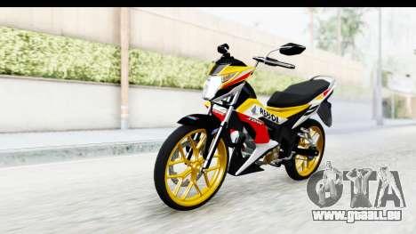 Honda 150R Sonic X IDFR für GTA San Andreas rechten Ansicht