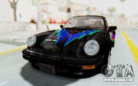 Porsche 911 Turbo 3.2 Coupe (930) 1985 für GTA San Andreas obere Ansicht