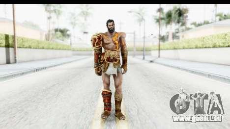 God of War 3 - Deimos für GTA San Andreas zweiten Screenshot