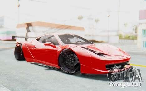 Ferrari 458 Liberty Walk für GTA San Andreas
