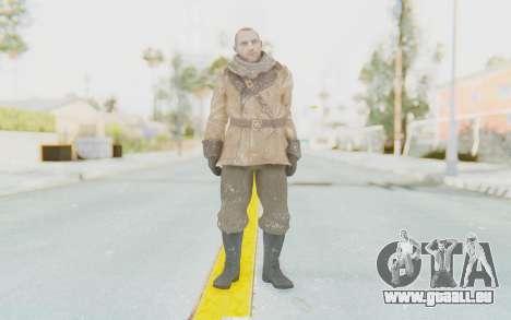 COD BO Lev Kravchenko Winter pour GTA San Andreas deuxième écran