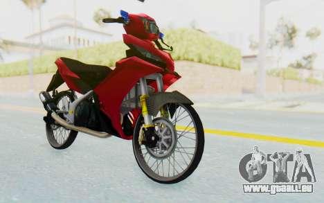 Yamaha Jupiter MX 135 Lock Style pour GTA San Andreas