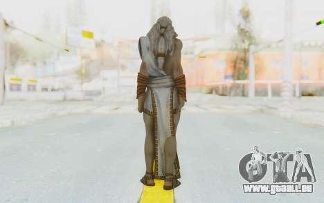 Zeus Skin pour GTA San Andreas troisième écran