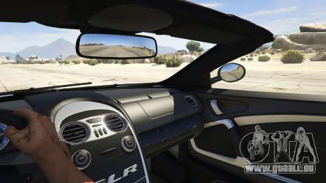 Mercedes-Benz SLR 722s Roadster & Mansory pour GTA 5