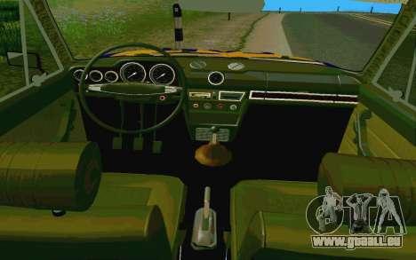 HUNTER-2106 GAI v2.0 pour GTA San Andreas vue de côté