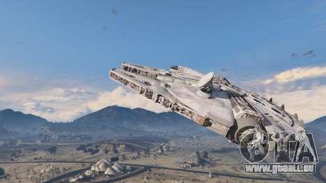 GTA 5 Star Wars Millenium Falcon 5.0 deuxième capture d'écran