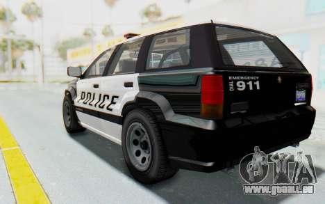 Canis Seminole Police Car pour GTA San Andreas laissé vue