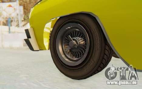 GTA 5 Declasse Voodoo für GTA San Andreas Rückansicht