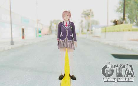 Dead Or Alive 5 Last Round - Honoka für GTA San Andreas zweiten Screenshot
