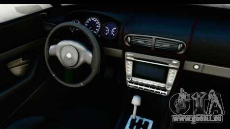 GTA 5 Lampadati Furore GT IVF pour GTA San Andreas vue intérieure