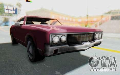 GTA VC Sabre für GTA San Andreas zurück linke Ansicht