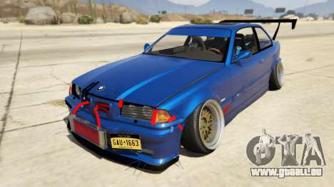 BMW M3 E36 DRIFTMISSILE pour GTA 5