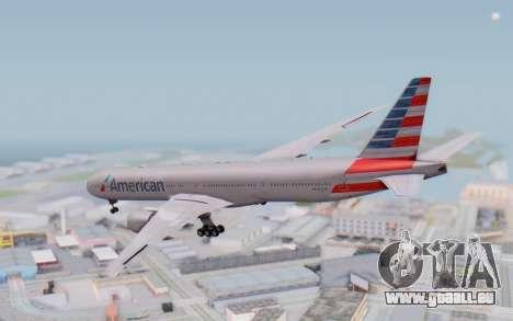 Boeing 777-300ER ANA JA755A - Gundam für GTA San Andreas linke Ansicht