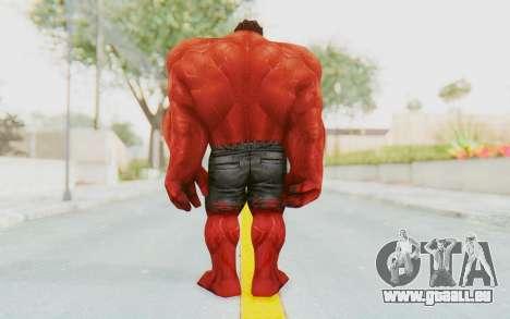 Marvel Future Fight - Red Hulk pour GTA San Andreas troisième écran